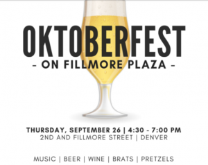 🍒 Octoberfest on Fillmore Plaza – Cherry Creek North